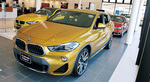 今週末に大々的にお披露目となる新型SUV「X2」も一足早く展示