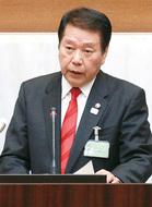 小林氏 4選立候補へ