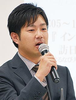 「経営のヒントに」と同社の梶井潤横浜営業所長