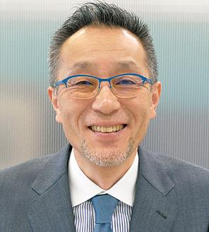 担当の小川代表