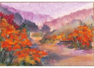 展示作品「秋もよう」