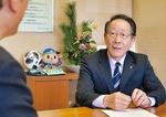 今年度の施策などを語る小野澤町長