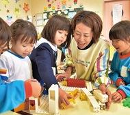 幼稚園教諭に助成金