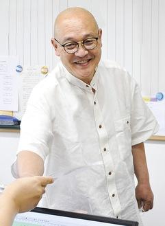 法人理事長であり、常昌院(厚木市棚沢)の住職でもある天利施設長
