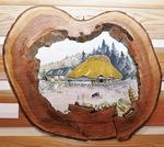 又村さんが生まれ育った風景を描いた「懐郷」