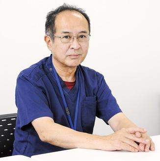 日野浩司医師…厚木医師会の理事で、社会医療法人社団三思会東名厚木病院の外科部長を務める