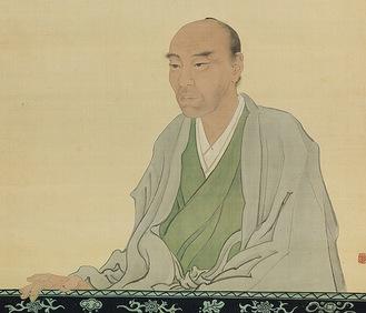 椿 椿山画「渡辺崋山像」(田原市博物館所蔵)
