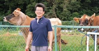 ひとりで牧場を経営する河内賢一さんチーズの購入希望はFacebookか【メール】bocca2005@ai.ayu.ne.jpで
