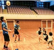 ボール遊びで運動能力アップ