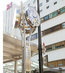 設置された時計塔