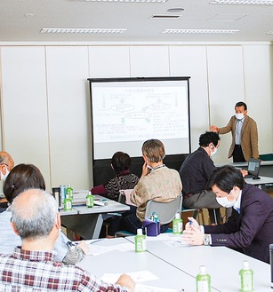 JAあつぎ清川支所での勉強会