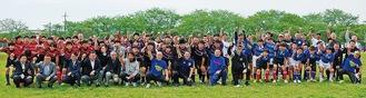 県央・県西地区の中学生約50人でスタートしたシーゲイルズJr.