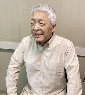 60年の節目について話す三木会長