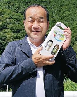 清川村のサイダーを企画した村上さん