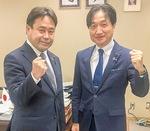 小島健一神奈川県議会議長から委員長指名
