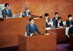 神奈川県議会の一般質問に登壇