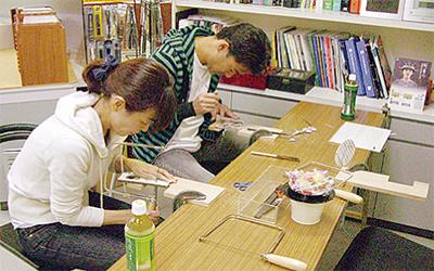 手作りメガネ教室