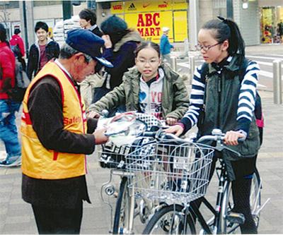 自転車盗難が急増