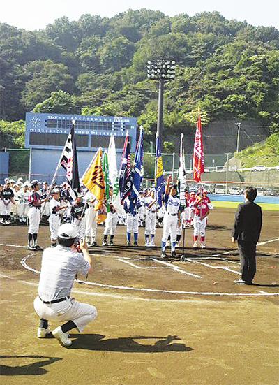 市少年野球秋季大会始まる
