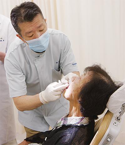 口腔がんを早期発見