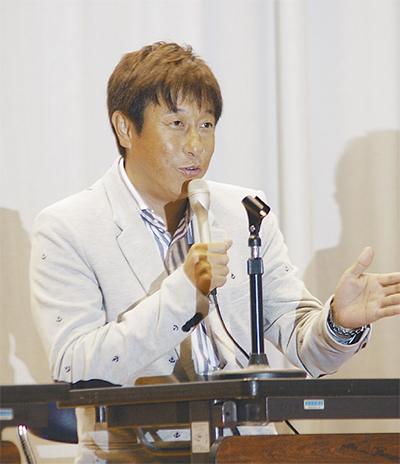 宮本和知さんがトーク