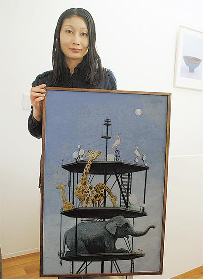 次世代担う日本画家