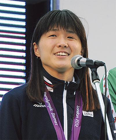 秋山里奈さん、水泳と夢を語る