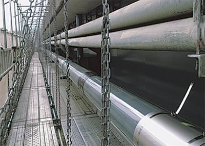 ガス導管施設工事に着手