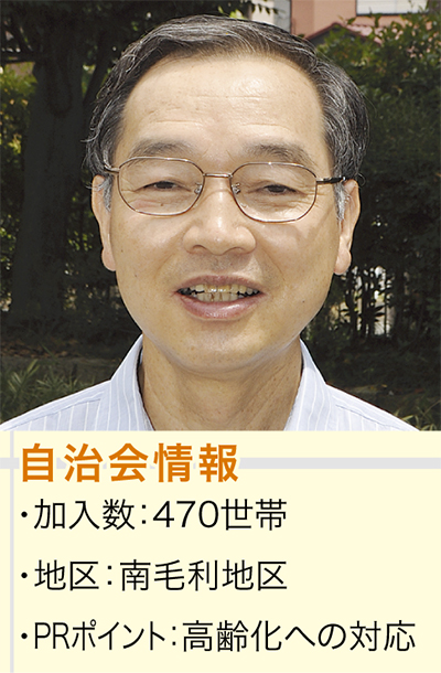 山浦昇会長