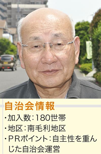 篠沢 敏弘会長