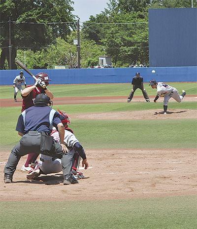 白熱の社会人野球大会