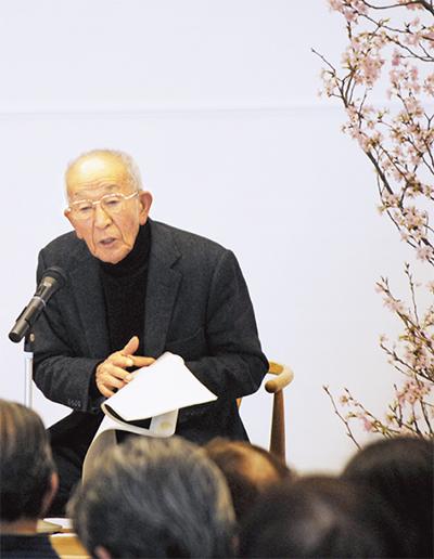 桜守の講演に300人