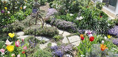 ひっそり佇む 素敵な庭