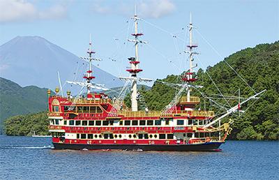海賊船に無料招待
