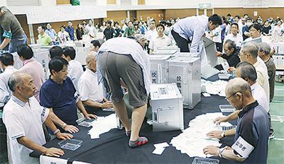 市議選 投票率は42・86% 前回比...
