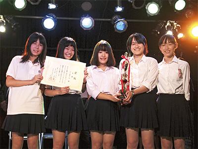 女子高生バンドが大賞