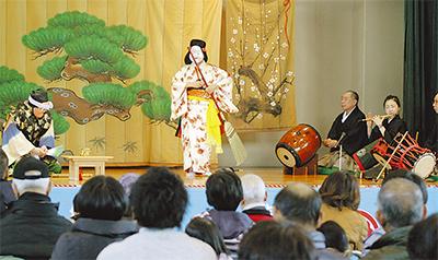 新春の里神楽公演
