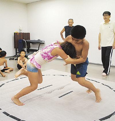 依知の子ども相撲10回目