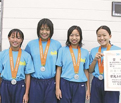 関東で銀メダル