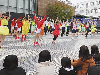 個性が輝いた湘北祭