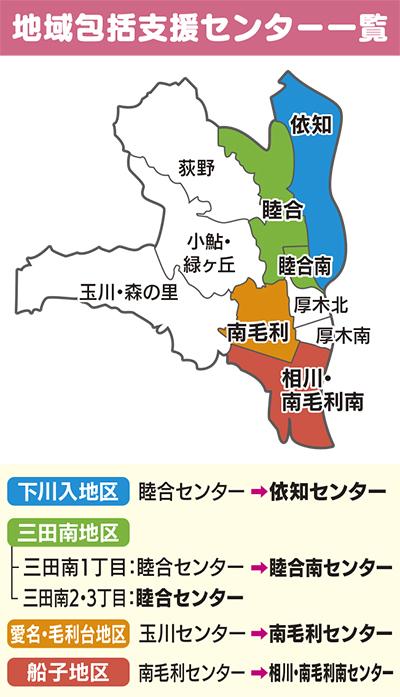 4月から区域再編