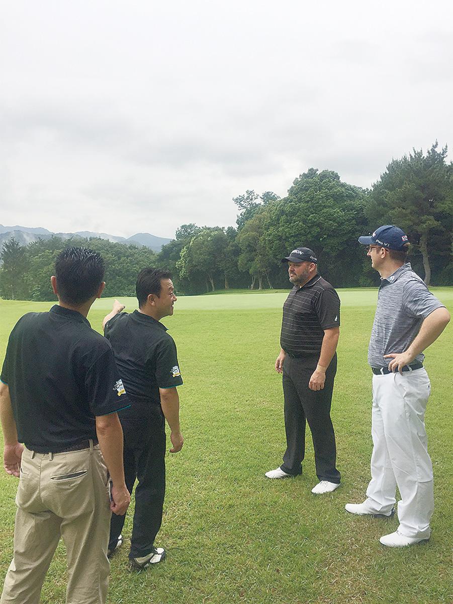 NZゴルフ協会が視察