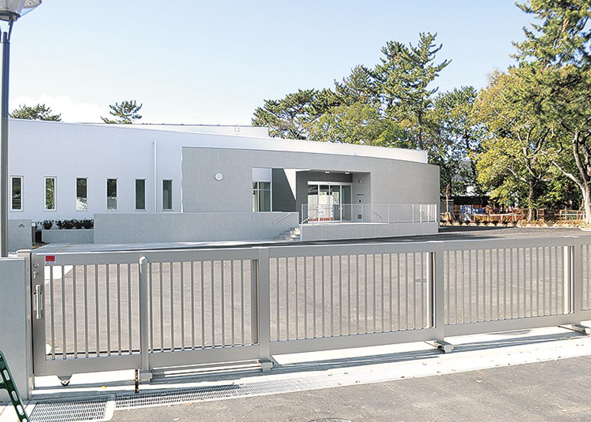 郷土博物館建物が完成