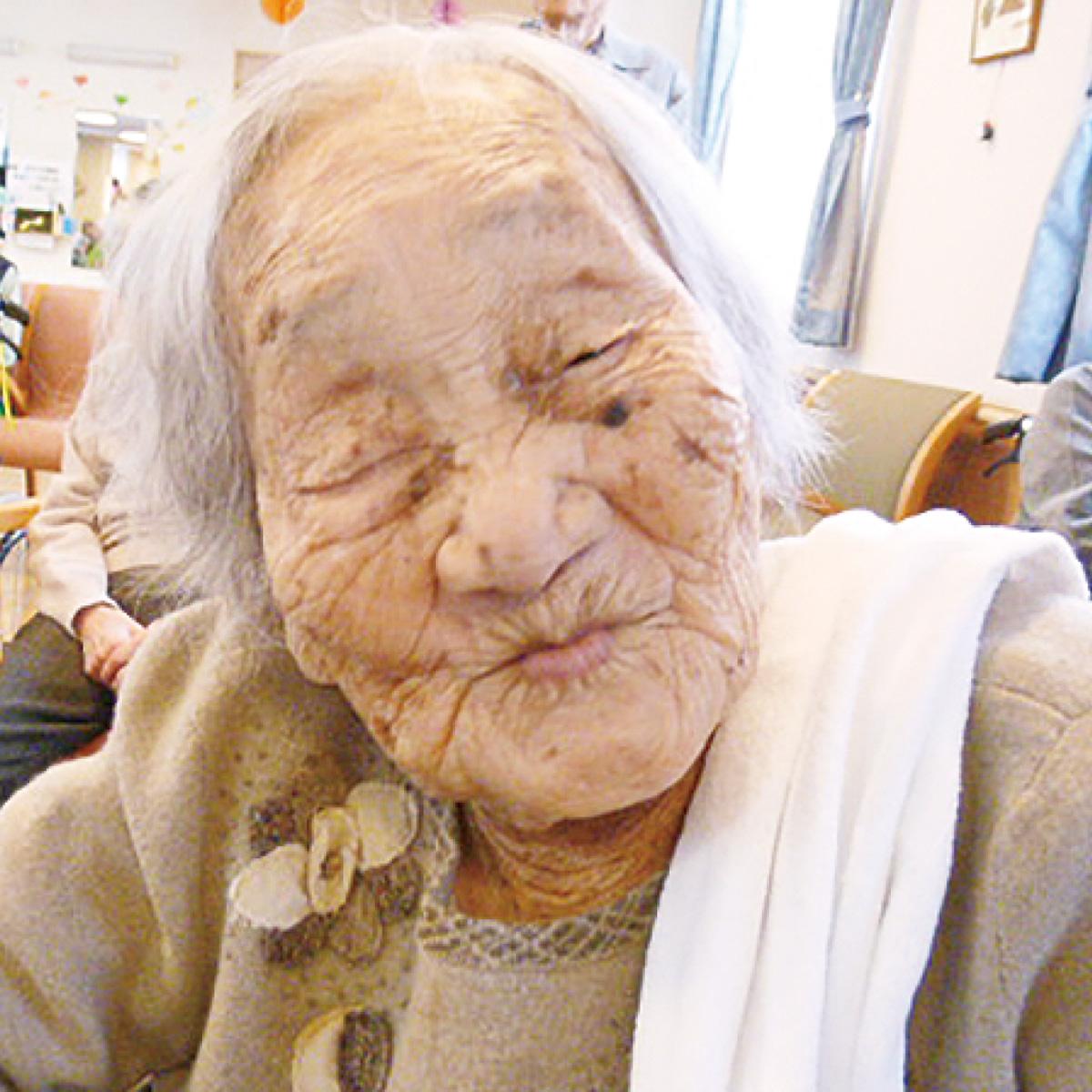 市内最高齢ヤマさんヨイショ!