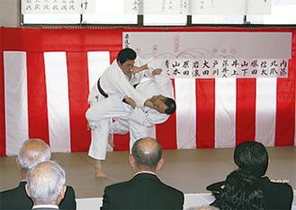 柔道の高点試合