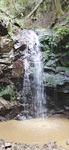 修復の進む「禊の大滝」