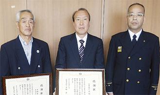 (左から)黒田義夫さん・石井雄人武さん