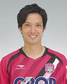 武田選手(写真提供:ファジアーノ岡山)