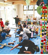 七夕&竹細工教室を開催