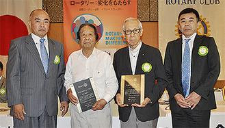 左から井戸川会長、濱田さん、吉川さん、東幹事